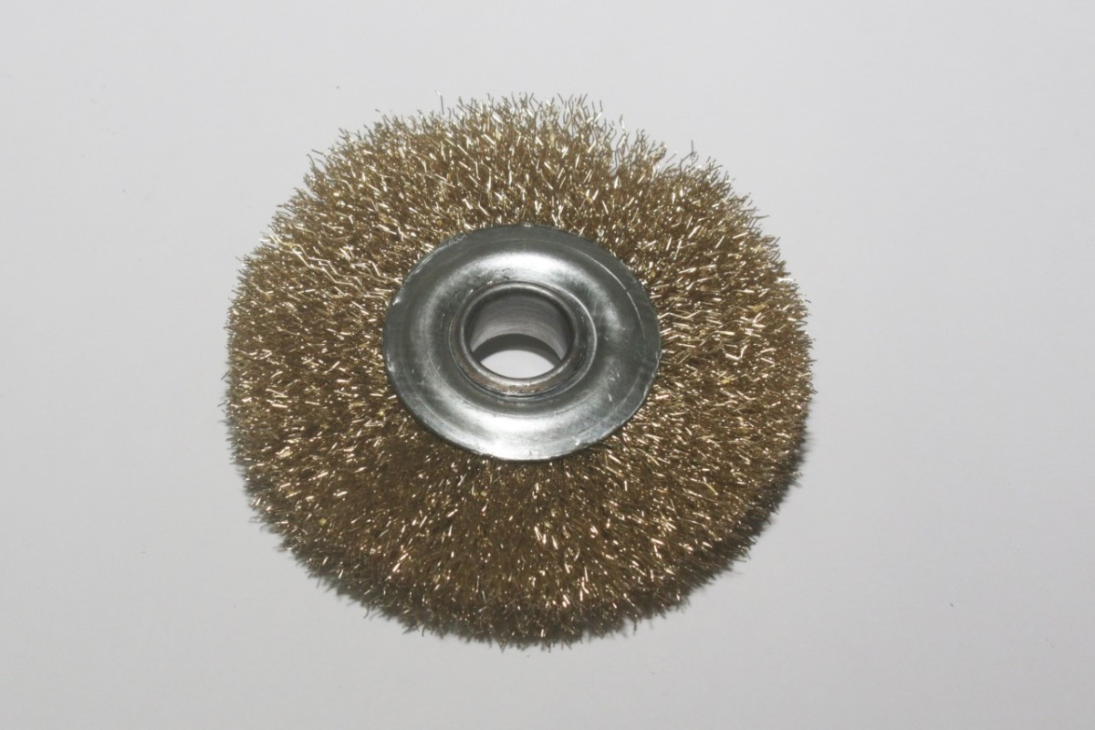MG Escovas Industriais - Escova de Aço Latonado